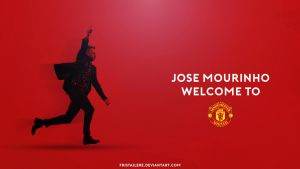 Jose Mourinho Welcome to Manchester United by Fristajlere