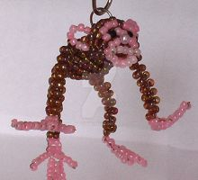 Beaded monkey by Craftcove
