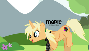 Maple for Art Trade by oOBrushstrokeOo
