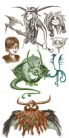 HTTYD doodles by bridgioto