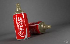 Coca Cola Nipple Can by marazmuser
