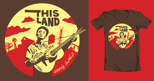 This Land T-shirt by coffeestained