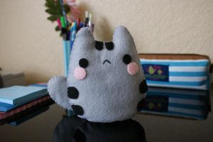 Baby Pusheen Plushie + Tutorial~Template Link by NinaFoFina