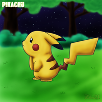 Pikachu Tear by grim-zitos