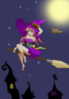 Little witch by annaluci