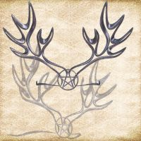 Pentacle Circlet by Just-A-Little-Knotty