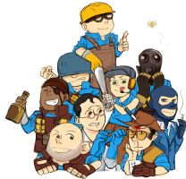 blue team by sfheibai