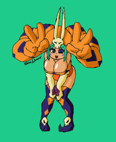 Skullgirls: Cerebella 2 by Brian12
