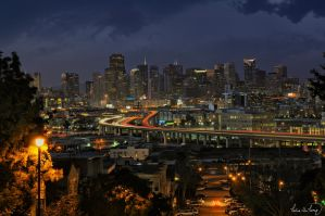 San Francisco Skyline IV by tt83x