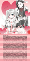 Ciel and Sebastian Journal Skin by TheOriginalFangirl