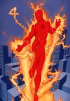 Human Torch by Juggertha
