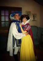 Snow White and her Prince by Mlle-Dreamer
