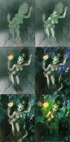 Process for Dryads Magic by APetruk