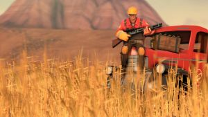 SFM Poster: In the WheatFields by PatrickJr