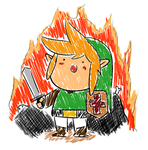 The Tiny Destructor Link by WaywardDoodles