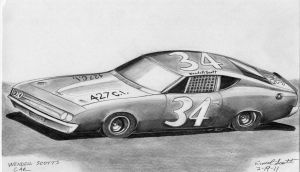 Wendell Scott's Car by ImfamousE