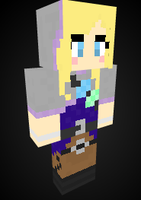 Lux Spelltheif in Minecraft by Endette