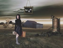 Leaving the wasteland by Skitime123