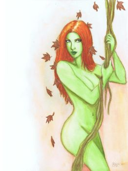 Poison Ivy by maxcsilver