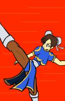 Day 22 Chun Li by ssvineman
