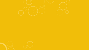 Yellow Windows 8 Bubbles Background by gifteddeviant
