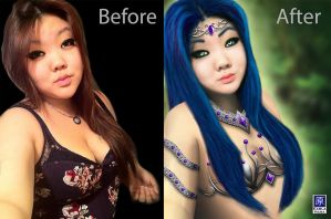 ELFA Before after by karlahara