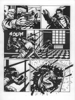 Noir page from Mister No by Av3r