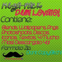 Mega Pack Demi Lovato zip by FernandaaEditions