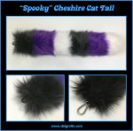 Spooky Cheshire Tail by delgrotto