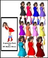 Xpansion for DY Halter Dress by DiYanira