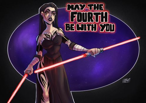 May The Fourth by BelToons