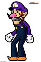 CPM_Waluigi fan-artwork by Chivi-chivik
