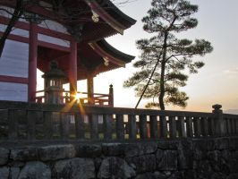 Temple Sunset by rab419