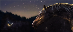 Here Comes The Night Time II | COMM by impassioned-dreams