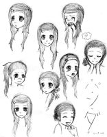 Panda's Expressions by LovelyDearyYou