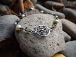 In the Garden - Forest Treasure Bracelet by QuintessentialArts