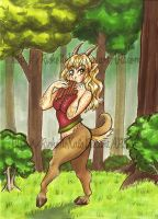Freya's Woods by Mermaid-Kalo