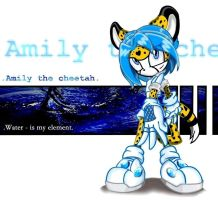 Emily the cheetah by Kate-V