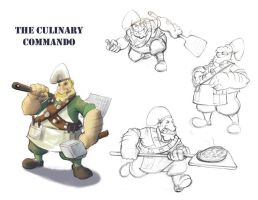 the culinary commando by azimuth-oakes