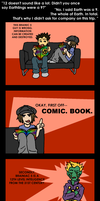 Brainiac 5 is Wrong by elfgrove