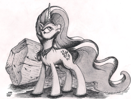 Nightmare Rarity (Ink+Graphite) by Graboiidz