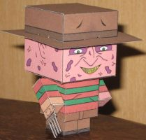 Freddy Cubee by paperart