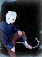 jack frost cosplay VII thinking by Guilcosplay