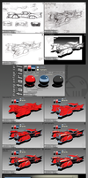 Drawing a vintage car tutorial by TurboSolovey