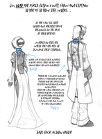 GLaDOS and Corrupt Wheatley back wires/cables by Inverted-Mind-Inc