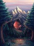 Red Cave by Benjamin-the-Fox