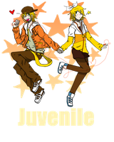 Rin and Len Juvenile V1 by bloom987654322