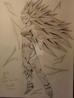 Bulla AT, Super Saiyan 3 its time to go all out by DavidsKovach