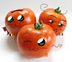 Tomato Gang by TearlessLullaby