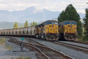 The UP SD90MAC Lineup by rdw283